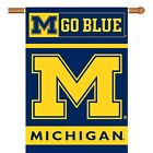 Michigan Wolverines 28 x 40 Double Sided Banner  FREE SHIPPING