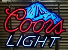 Large COORS LIGHT Beer LED Neon Sign w Color Changing Motion