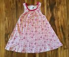 TEA COLLECTION pink butterfly trapeze dress size 5