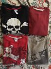 Long Sleeve Thermal Shirts Lot Boys Size 10 12