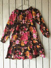 Lands End girls size 10 fall floral dress