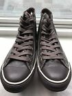 NEW Brown Leather Converse Chuck Taylor All Star High Top Shoes M 75 W 95