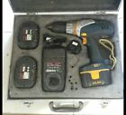 Ryobi 14.4v battery drill cordless 3 batteries 1 charger 1 drill, case