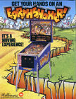Earthshaker Pinball - CPU Rom Set L-3 OR F-1 [U26, U27] [Williams] EPROM upgrade