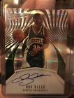 2016-17 Panini Revolution Ray Allen on card Autograph Seattle Supersonics Hot SP