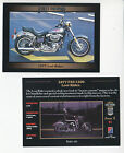 1977 HARLEY-DAVIDSON FXS 1200 Low Rider Factory Custom Motorcycle Photo CARD