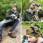 3 Colors Unisex Army Camouflage Knitting Hat Winter Autumn Warmer Bonnet Beanies