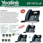 Yealink SIP-T41S 4-Pack IPPhone Gigabit Ethernet PoE Optima HD Voice