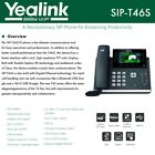 Yealink IPPhone SIP-T46S HD technology USB Dongle PoE 16 VoIP accounts