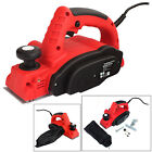 VOCHE® 710W ELECTRIC POWER PLANER WOOD PLANE PARALLEL / REBATE GUIDES + DUST BAG