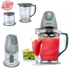Prep Blender Food Processor Drink Chopper Mixer Frozen Smoothie Maker Master New