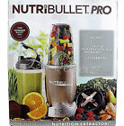 NUTRIBULLET Pro 900W Nutrition Hi-Speed Blender Mixer 9 Piece Set NB9-0901 NEW