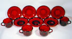 SAUCER Set LOT France TEA COFFEE Mugs