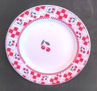 Majesticware by Oneida 7.5in. Salad Plate 'Cherries Jubilee' Pattern-Free Ship!