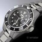 TITANIUM Invicta Pro Diver AUTOMATIC NH35A 24 Jewels Black Dial $795 Mens Watch