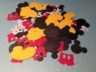 201 MICKEY MOUSE CONFETTI BIRTHDAY PARTY DIE CUTS HEAD SHOES PANTS