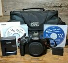 Canon EOS Rebel T3 1100D 122 MP Digital DSLR Camera body only with Accessories
