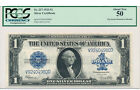 1 1923 Silver Certificate PCGS 50 About Uncirculated