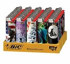 BIC Full Size Limited Special Edition Disposable Lighters Assorted Styles 25