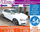 2010 AUDI A3 20 TDI S LINE BLACK EDT GOOD BAD CREDIT CAR FINANCE FROM 54 P WK
