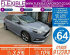 2015 FORD FOCUS 20 T ST 3 GOOD BAD CREDIT CAR FINANCE FROM 64 P WK