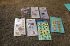 Scrapbooking stickers embellishments card making flowers spring garden theme lot