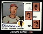 Top 10 Red Schoendienst Baseball Cards 14
