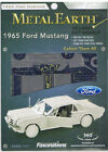 Fascinations Metal Earth Ford 1965 Mustang.0 Laser Cut 3D Model
