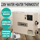 NEW Electric Water Heater Thermostat SPA Swimming Pool Hot Tub 11KW 220V USA