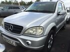 LARGER PHOTOS: 2001 MERCEDES ML270 CDI LEATHER 7 SEATS, AMG BODYKIT, FABULOUS LOOKING,7 SERVICE