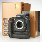 Nikon D800 body with MB D12 Battery Grip package Excellent