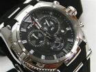 POLICE Black RAPTOR Chronograph Dial Watch New! PL-13092JS-02