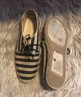 Eileen Fisher Step Canvas Oxford Lace Ups Size 75