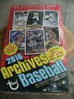 2016 Topps Archives Hobby Baseball Box - 2 ON CARD Autographs per box