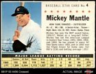 Comprehensive Guide to 1960s Mickey Mantle Cards 34