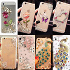 US Lovely Bling TPU+PC Case Cover Diamond Protective Skin for iPhone Samsung LG