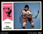 1974 O-Pee-Chee WHA #63 Real Cloutier Nordiques EX MT