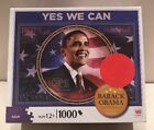 NEW 1000 PIECE JIGSAW PUZZLE YES WE CAN PRESIDENT BARACK OBAMA SEALED MINT