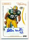 REGGIE WHITE 2004 PLAYOFF PRIME SIGNATURES PROOF AUTOGRAPH PACKERS AUTO SP # 92