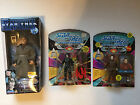 VTG Star Trek NEW Lot Next Generation Action Figure Doll Captain Picard Borg Lo