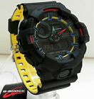 New Casio G-Shock Layered Neon Colors Ana Digi World Time Watch GA-700SE-1A9