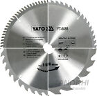 YATO HM Circular Saw Blades Ø 130 - 400 mm for Wood or Non-Ferrous Metal Z=12 -