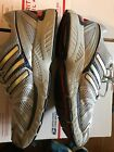 Adidas Adistar Control 5 Mens Running Shoes Silver Gray Orange Size 13