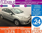 2011 FORD FIESTA 125 ZETEC GOOD BAD CREDIT CAR FINANCE FROM 24 P WK