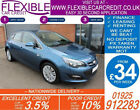 2015 VAUXHALL ASTRA 14 EXCITE GOOD BAD CREDIT CAR FINANCE FROM 34 P WK