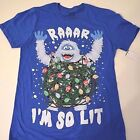 New Rudolph Abominable Snowman Christmas Holiday shirt mens sizes new