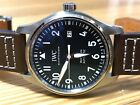 IWC Mark XVIII Ref. 3270 Sainless Steel BLUE Dial Automatic 40mm COMPLETE