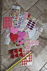 Scrapbooking stickers embellishments rub ons hearts love valentines xoxo heart