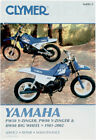 CLYMER Repair Manual for Yamaha PW50 Y-Zinger, PW80 Y-Zinger, BW80 Big Wheel