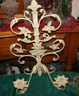 Vintage Style French Victorian Wall Mounted Candle Holder Sconce-#2-Flowers